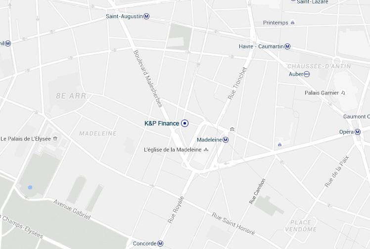 Plan d'accès K&P Défiscalisation